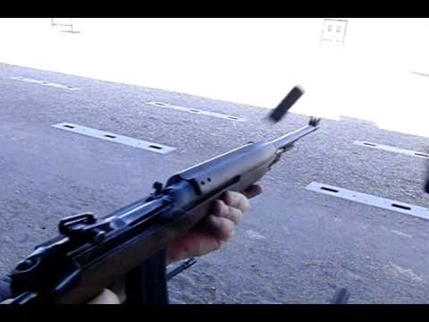 M2 Carbine full auto ejection in hi speed