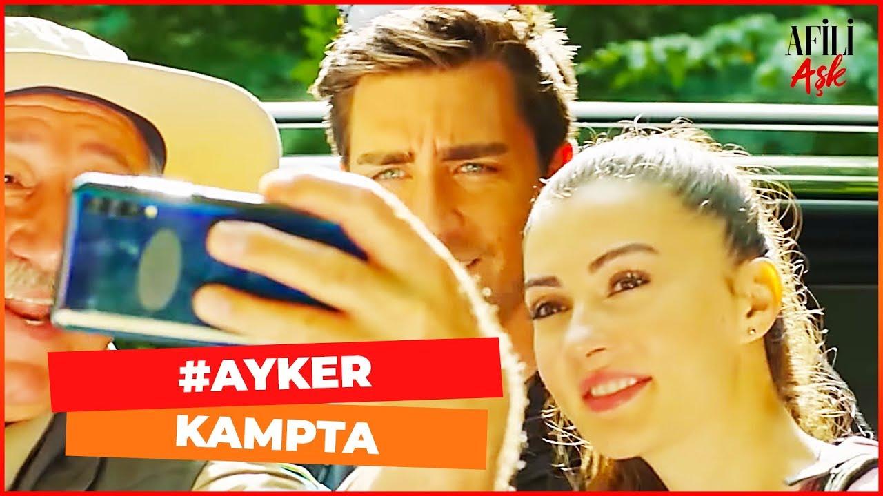 Ayşe ve Kerem Kampta - Afili Aşk 15. Bölüm