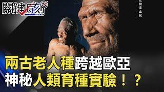 「史前混血兒」兩古老人種跨越歐亞 神秘人類育種實驗!? 關鍵時刻 20180824-6黃創夏