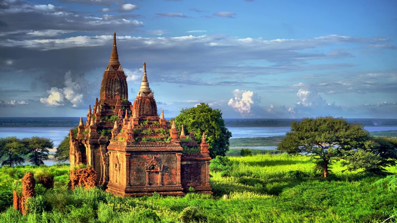 Bagan, Kota Vihara Kuno Myanmar