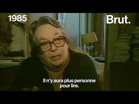 Quand Marguerite Duras parlait des années 2000 en 1985