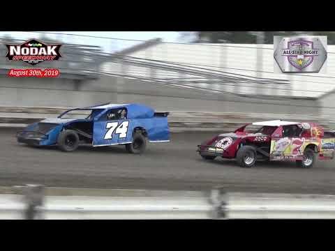 Nodak Speedway IMCA Sport Mod All-Star Heats (8/30/19)