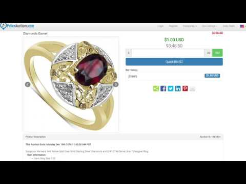 Edwardian Era-Inspired Rings On PoliceAuctions.com
