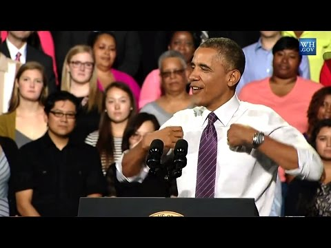 """Obama to Republicans: """"Stop Hatin'!"""""""