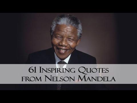 61 Inspiring Quotes from Nelson Mandela