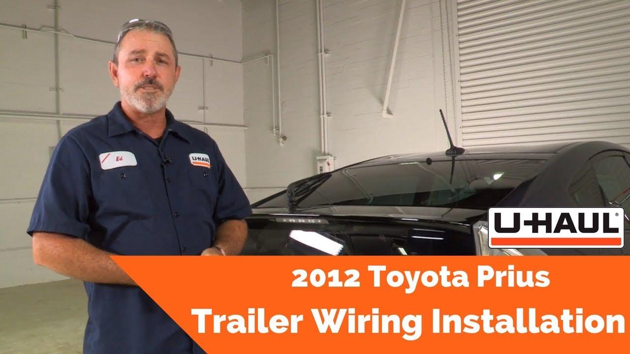 2012 toyota prius trailer wiring installation - youtube  youtube