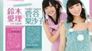 転載 Risako Sugaya(Berryz)×Airi Suzuki(℃-ute)