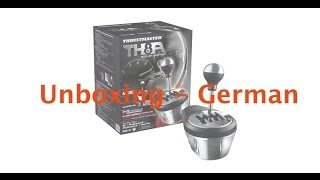 "Unboxing Thrustmaster TH8A-Shifter ""German"""