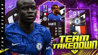 91 What If N'Golo Kante Team Takedown!!!