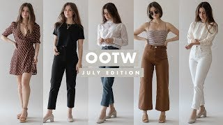 OOTW: Summer Outfits Ideas - July 2018 - Week of Outfits | Dearly Bethany