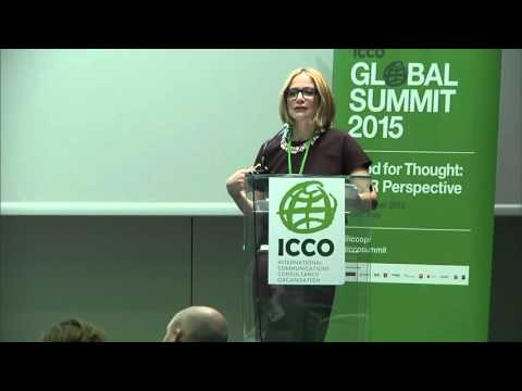 Redesigning the Discipline to Compete in a New-fashioned Marketplace - ICCO Global Summit Milan 2105