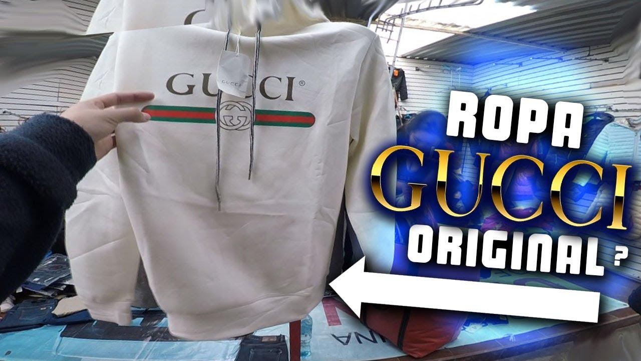 Encontre Ropa Gucci Original En Este Mercado Mira Los Precios Youtube