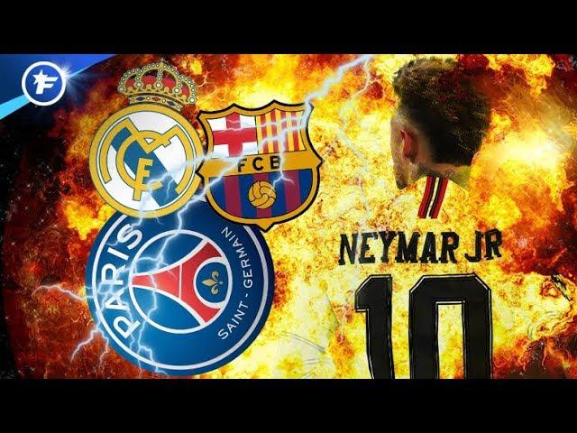 Barça-Real-PSG : la guerre des nerfs pour Neymar   Revue de presse