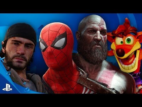 E3's Best Games are on PS4 and PSVR | E3 2016 PlayStation Press Conference Sizzle Video