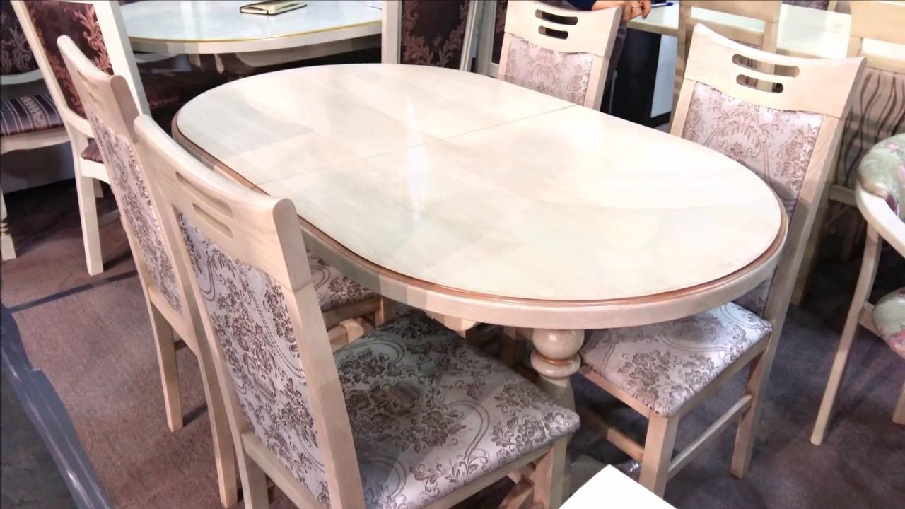 Стол кухонный раскладной. Стол кухонный раскладной Гирне + стулья Юля.
