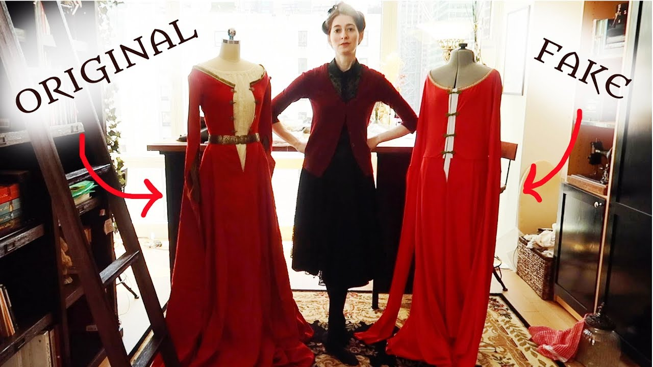 Buying a Knockoff of My Own Dress: An Educated Roast (actual fire used for Scientific Purposes)