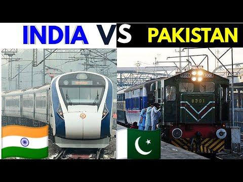 INDIA VS  PAKISTAN | Railway comparison | 2020