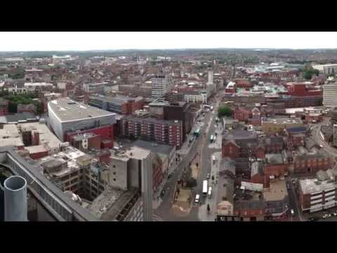 The City of Leicester in full HD 360º panorama