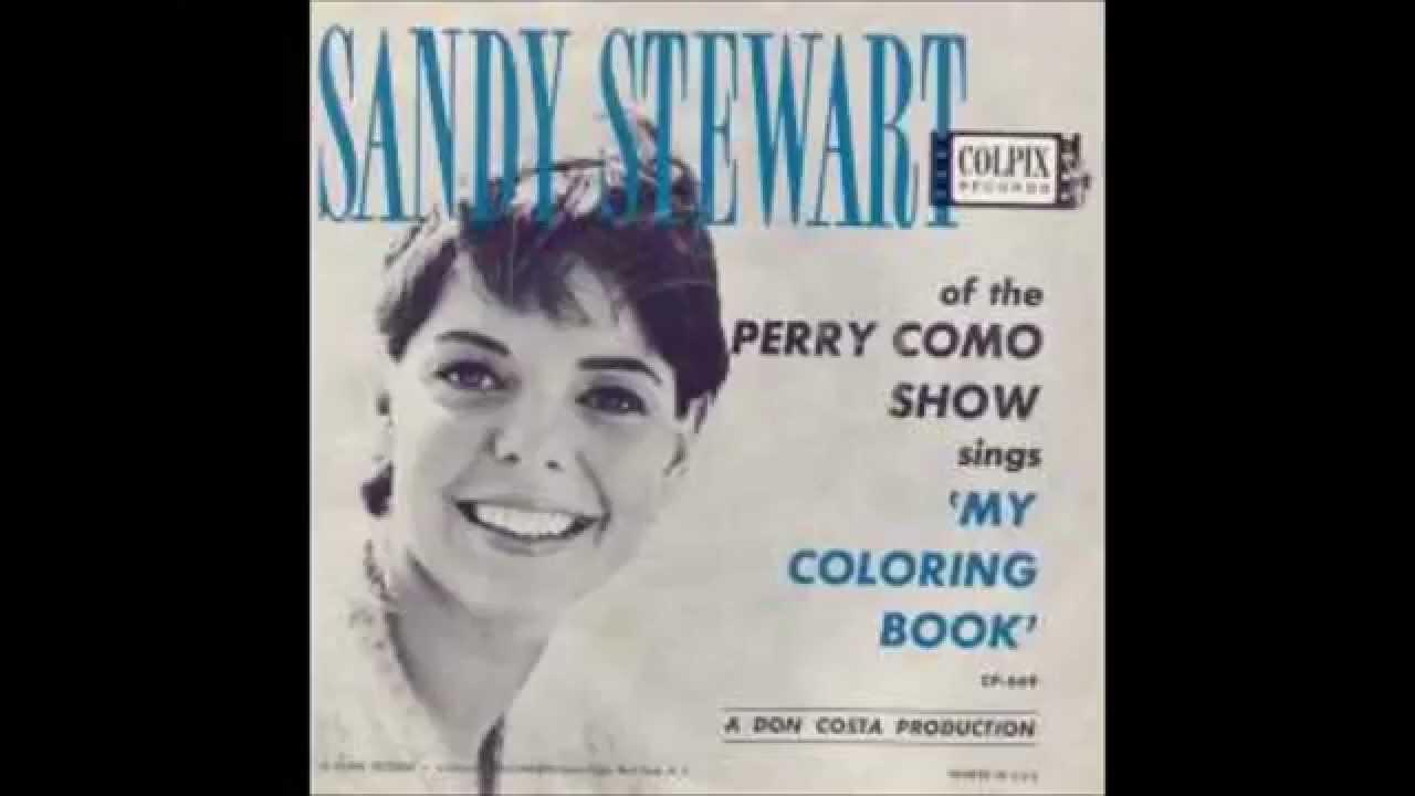 The coloring book barbra streisand - Sandy Stewart My Coloring Book