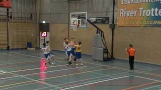 5 october 2019 Rivertrotters MSE2 vs LUSV basketbal MSE1 59-55 1st period