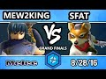 Shine 2016 SSBM - FOX MVG | Mew2king (Marth) Vs. CLG | SFAT (Fox) Smash Melee Grand Finals