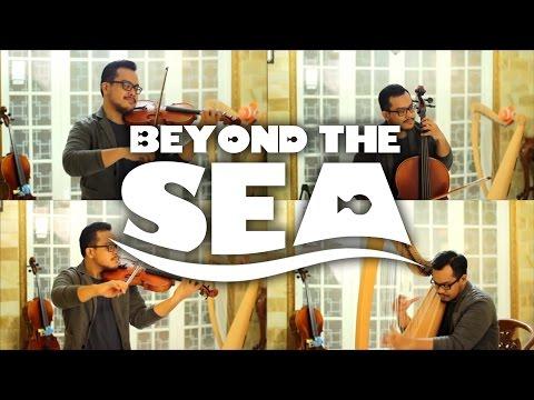 Finding Nemo/Finding Dory - Beyond the Sea/La Mer (Violin/Viola/Cello/Harp cover by Riz)