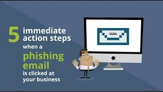 5 steps to take if a phishing email is clicked at your business