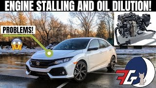 Honda Civic Accord & CRV 1.5t Engines STALLING and Breaking Down Already?!