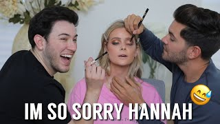 GIVING HANNAH G a MAKEOVER WITH DYLAN! Bachelor Nation is Shaking!