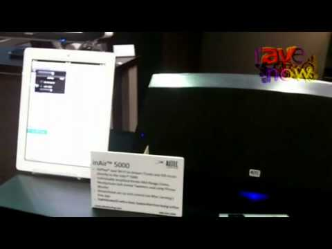 CEDIA 2011: Altec Lansing Presents the inAir5000