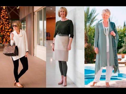 Ropa Para Señoras De 50 A 60 Años A Mas  Moda 2019