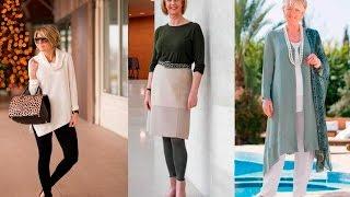 Ropa para señoras de 50 a 60 años a mas | Moda 2018