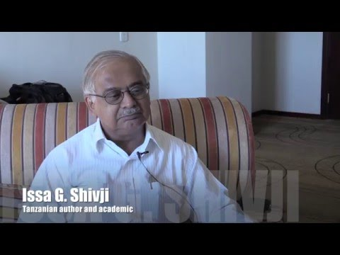 20151011  Life and Thought - Issa Shivji