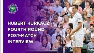 Hubert Hurkacz Fourth Round Post-Match Interview | Wimbledon 2021