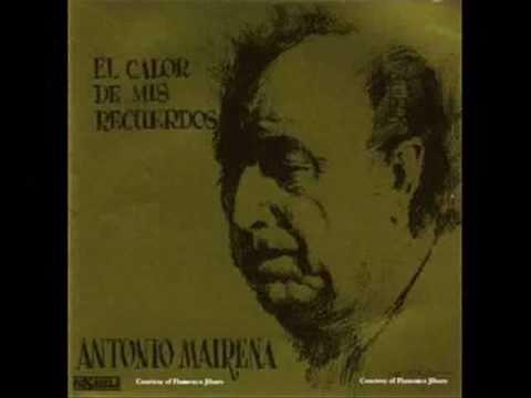 Antonio Mairena. Con los repiques (romera).