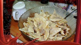 Рецепт вареников с квашеной капустой.