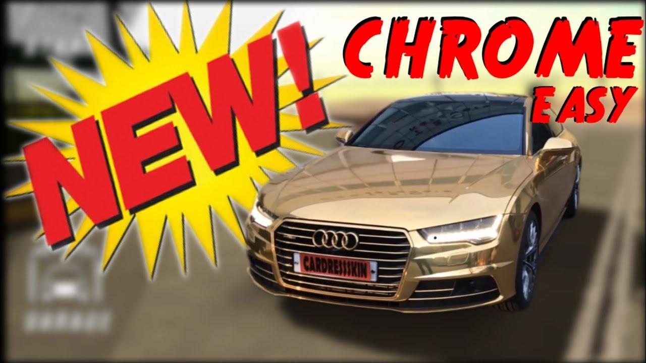 Car Parking Miltiplayer - Cum sa faci masini CHROME / How to make CHROME CARS EASY / NEW METHOD4.6.8