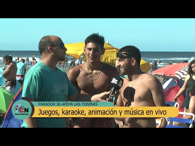 Parador 36: Música y entretenimiento en la playa de Las Toninas