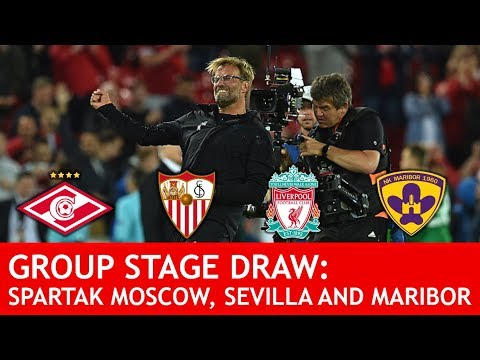 """WE CAN WIN THIS GROUP!"" Liverpool Draw Spartak Moscow, Sevilla & Maribor Fan Reaction"