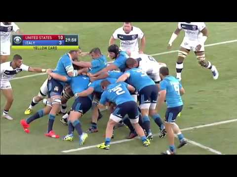 Test Match 2016: USA-Italia 20-24
