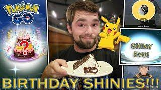 GETTING A BIRTHDAY SHINY POKEMON! (Pokemon GO)