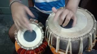 HOW To play Tabla on national anthem ( godha taal)