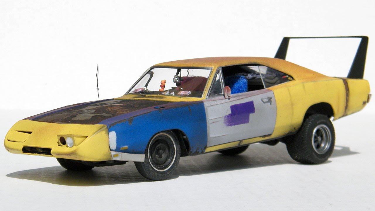 1 25 Scale Joe Dirt Charger Daytona Finished Model Youtube
