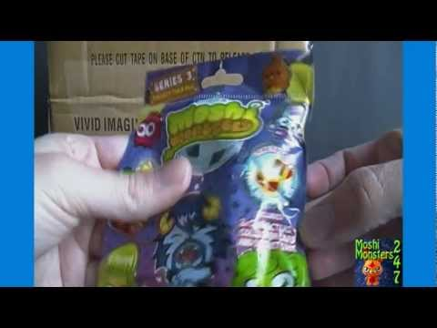 Moshi Monsters Moshlings Series 3 Blind Pack BOX Opening Part 1 / 2