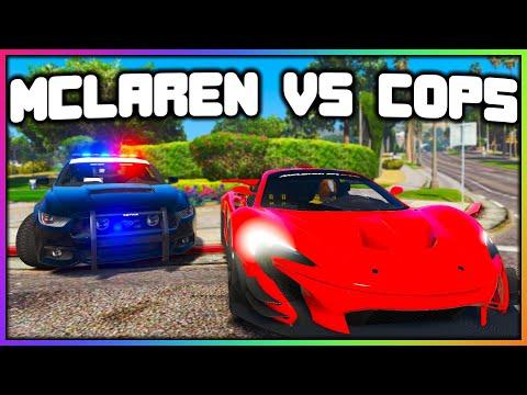 GTA 5 Roleplay - McLAREN VS COPS (STOLE MY CAR) | RedlineRP
