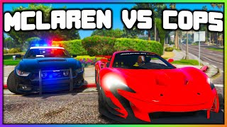 GTA 5 Roleplay - McLAREN VS COPS (STOLE MY CAR) | RedlineRP