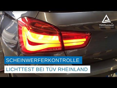 Sehen und gesehen werden: Autobeleuchtung regelmäßig kontrollieren / Kostenloser Licht-Test im Oktober an allen Servicestationen von TÜV Rheinland: Bei schlechter Sicht Abblendlicht einschalten