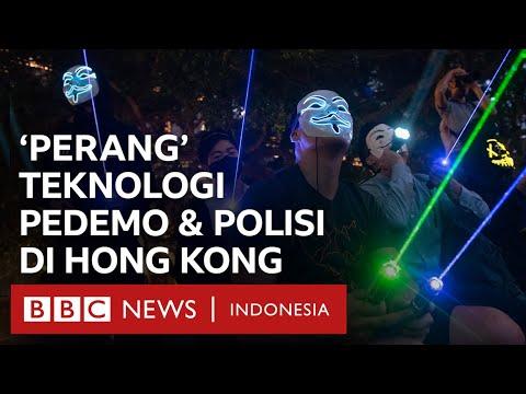 'Perang' Teknologi Dalam Demonstrasi Hong Kong - CLICK | BBC News Indonesia
