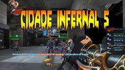 Jogando Cidade Infernal 5 da Battle Teams | iZombie Alive