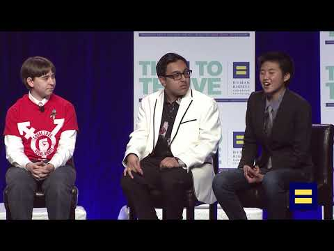 Panel Discussion with Non-Binary Youth and Jacob Tobia